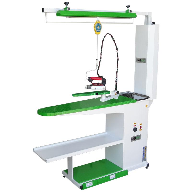 Narrow Type Vacuum Ironing Board With Apparatus Hand Wermac