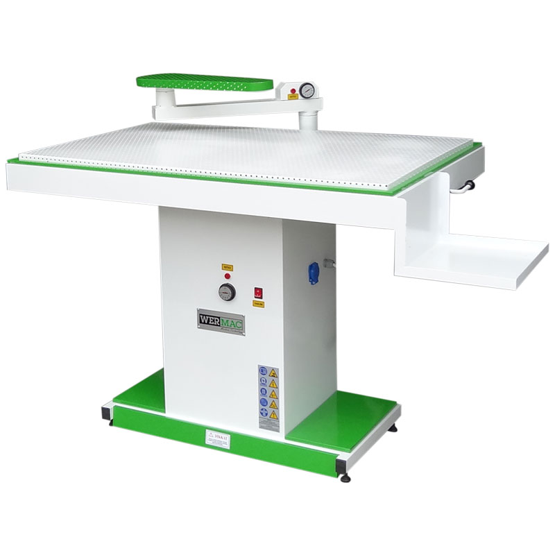 Wide Vacuum Ironing Board With Iron Rest Wermac